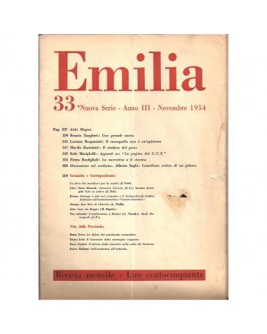 1954: Emilia. Rivista mensile di cultura