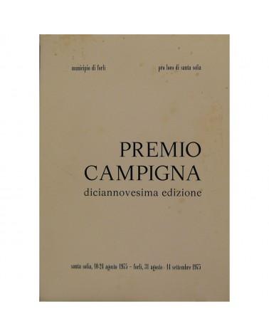 1975: Premio Campigna - XIX edizione