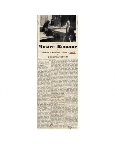 1958: Mostre romane. Cantatore