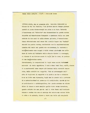 1961: La Ronda Delle Arti