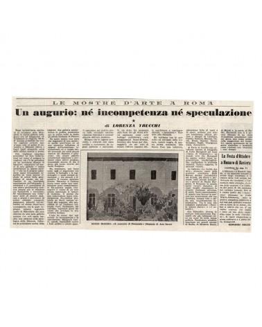 1960: Un augurio: né incompetenza né speculazione