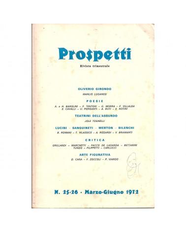 1972: Prospetti