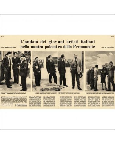1958: L'ondata dei giovani artisti italiani nella mostra polemica della Permanente