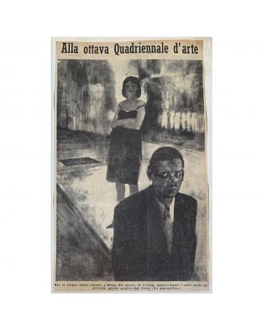 1960: Alla ottava Quadriennale d'arte