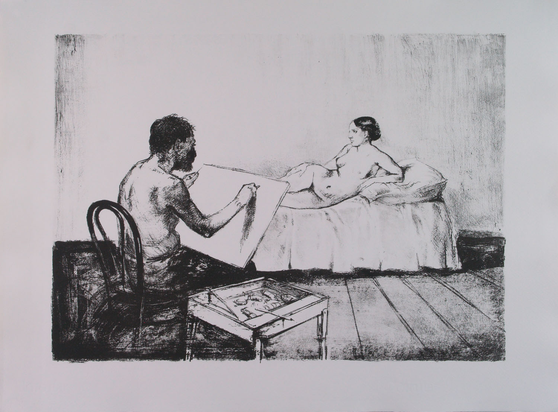 Alberto Sughi, Il Pittore e la Modella